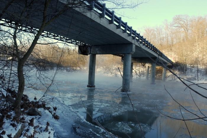 mist & bridge